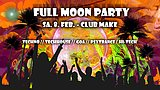 Party flyer: Fullmoon Party Feb. 8 Feb '20, 22:00