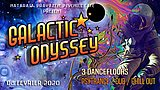 Party flyer: Galactic Odyssey 8 Feb '20, 22:00