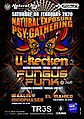 Party flyer: Natural Exposure presents U-Recken & Fungus Funk in Athens on Sat 08 February 8 Feb '20, 23:30