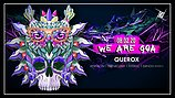 Party flyer: We are GOA w/ Querox 8 Feb '20, 23:00