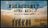 Party flyer: Friendship Open Air - Island Music Gathering 13 Feb '20, 15:00