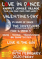 Party flyer: Love in dance 14 Feb '20, 22:00