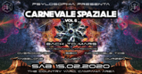 Party flyer: ॐ Carnevale Spaziale vol.6 ॐ Special guest: Back to Mars 15 Feb '20, 22:00