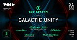 Party flyer: GALACTIC UNITY - Plovdiv 21 Feb '20, 22:00
