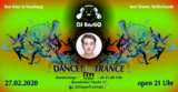 Party flyer: DANCE! to TRANCE 27 Feb '20, 21:00