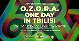 Party flyer: OZORA ONE DAY IN TBILISI 2020 BY TREEBAL 28 Feb '20, 23:00