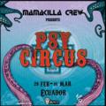 Party flyer: Psy Circus Dark Whisper Ecuador 28 Feb '20, 19:00