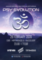Party flyer: Psy Evolution 29 Feb '20, 23:00