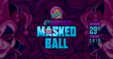 Party flyer: Psychedelic Gaff 4th Birthday - Masked Ball w/ Hydra-E 29 Feb '20, 21:00
