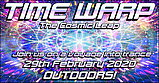 Party flyer: Time Warp - The Cosmic Leap 29 Feb '20, 14:00