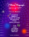"""Party flyer: Bom Voyage: Radiate """"We are in Space"""" 7 Mar '20, 23:00"""