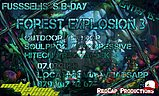 Party flyer: Forest Explosion 3 - Fusseli's BDay - CHIPE, EDI, SERIX (Out&Indoor) 7. Mrz. 20, 21:00