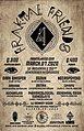 Party flyer: Fraktal Friends 4 7 Mar '20, 20:00