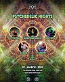 Party flyer: Psychedelic Nights 7 Mar '20, 22:00