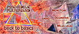 Party flyer: Psychedelic Playground - Back to Basics 13. Mrz. 20, 22:00