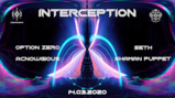 Party flyer: Interception : West Side 14 Mar '20, 22:00