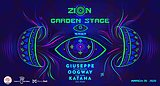 Party flyer: ZION: GARDEN STAGE TEASER with GIUSEPPE at MONO HALL 20 Mar '20, 23:00