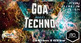 Party flyer: Goa meets Techno 27 Mar '20, 22:00