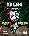 Party flyer: KREAM presents Manadna Festival 28 Mar '20, 23:30