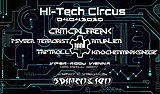 Party flyer: Hi-Tech Circus with CriticalFreak 4 Apr '20, 22:00