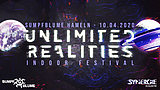 Party flyer: Unlimited Realities - Indoor Festival 10 Apr '20, 23:30