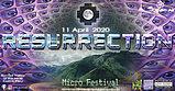 Party flyer: RESURRECTION - Micro Festival 3 Apr '21, 16:00