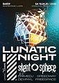 Party flyer: Lunatic Night mit Silent Sphere 18 Apr '20, 22:00