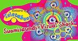 Party flyer: Return of Teletabooz - Suomisaundi × Visual Shock 16 May '20, 22:00