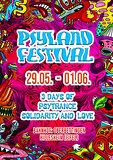 Party flyer: Psyland Festival 3 Days of Psytrance,Solidarity and Love 29. Mai. 20, 14:00