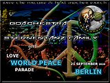 Party flyer: Goachestra Sternentanz goes Love World Peace Parade 2020 21 Sep '20, 10:00