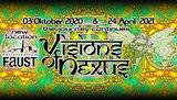 Party flyer: Visions of Nexus 3. Okt. 20, 23:00