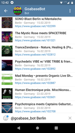 Goabase News · goabase ॐ parties and people